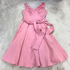 Grace Karin Retro Fit Flare Sleeveless Midi Dress